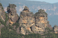 The Three Sisters, Blue Mountains National Park Royalty Free Stock Photos