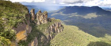 Three Sisters, Blue Mountains National Park, NSW, Australia Royalty Free Stock Image