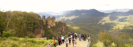 Three Sisters, Blue Mountains National Park, NSW, Australia Stock Image