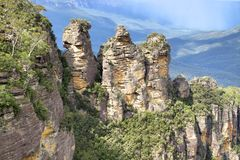Three Sisters, Blue Mountains National Park, NSW, Australia Royalty Free Stock Photography