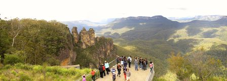 Three Sisters, Blue Mountains National Park, NSW, Australia Stock Images