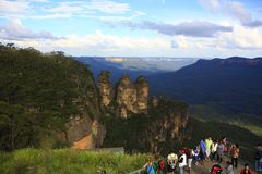 Three Sisters, Blue Mountains National Park, NSW, Australia Royalty Free Stock Images