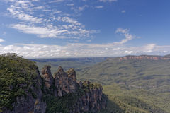 Three Sisters in Blue Mountains, NSW, Australia Stock Photography