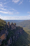 Three Sisters in Blue Mountains, NSW, Australia Royalty Free Stock Photo