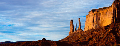 Three Sisters Butte Royalty Free Stock Images