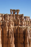 The Three Sisters Hoodoo in Bryce Canyon National Park, Utah Royalty Free Stock Image