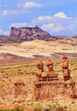 Three Sisters Hoodoos Goblin Valley State Park Canyon Utah Stock Images