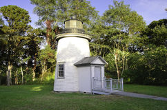 Three sisters lighthouse Stock Images