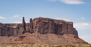 Free Three Sisters, Monument Valley Royalty Free Stock Images - 100814989