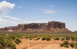 Three Sisters, Monument Valley Royalty Free Stock Image