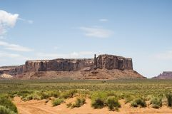 Three Sisters, Monument Valley Stock Images