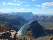 Sable dam , three rondawels ,drakensberge,limpopo,South africa near Hoedspruit. Three sisters mountain nature reserve stock image