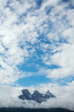 Three Sisters mountain range Royalty Free Stock Photos