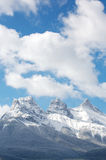 Three Sisters mountain range Royalty Free Stock Photography