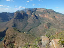 Sable dam, limpopo, Three Rondawels, South Africa. Three sisters mountains in limpopo nature reserve royalty free stock photo