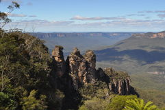 The three sisters New South Wales Australia Stock Photography
