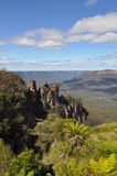 The three sisters New South Wales Australia Stock Photo