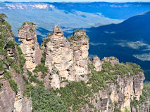 The Three Sisters Royalty Free Stock Images