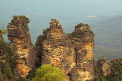 Three Sisters Rock Formation Royalty Free Stock Photography