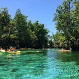 Three sisters springs Royalty Free Stock Photography