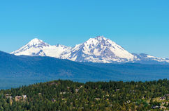 Three Sisters View Royalty Free Stock Image