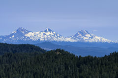The Three Sisters Royalty Free Stock Photography