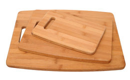 Three size of cutting board Royalty Free Stock Photography