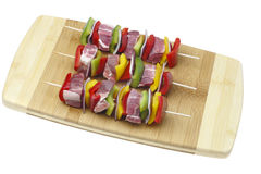 Three skewers Royalty Free Stock Image