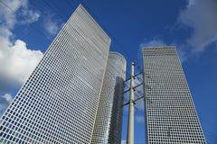 Iconic Skyscrapers Tel-Aviv Royalty Free Stock Photo