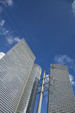 Iconic Skyscrapers Tel-Aviv Stock Photo