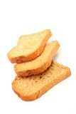 Three slices bread Royalty Free Stock Photos