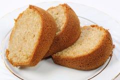 Three slices of cake Stock Image