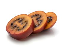 Tamarillo fruit isolated Stock Images