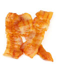 Bacon Slices Stock Photo