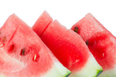 Three slices of watermelon Royalty Free Stock Photo