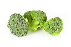 Three small broccoli Royalty Free Stock Photos