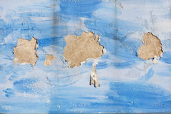 Three small island in the blue ocean concept Royalty Free Stock Photos