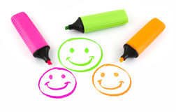 Three smiles Stock Photo