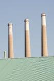 Morro Bay power plant Royalty Free Stock Photo