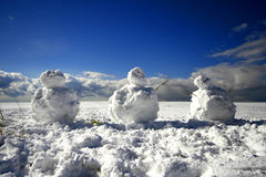 The Snowmen Stock Photos