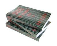 Three softcover books Stock Photo