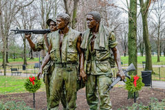 Three Soldiers Memorial Stock Images