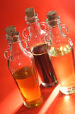 Three Sorts Of Oil Royalty Free Stock Image