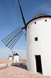 Three spanish windmills Royalty Free Stock Image