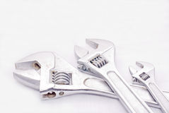 Three spanner Stock Photography