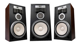 Three speakers Royalty Free Stock Photos