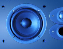 Three speakers background Stock Photos