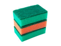 Three sponges Royalty Free Stock Photography