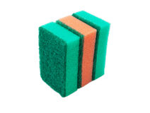 Three sponges Royalty Free Stock Photo