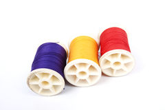 Three spools Stock Images